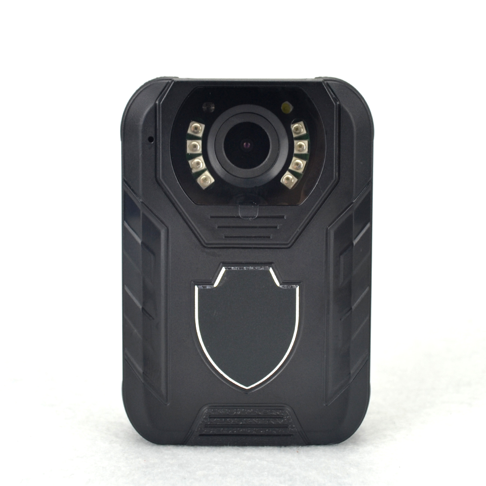 HD 1296p Police Body Cameras IR Night Vision 10m Worn Camera Wide Angle 140degree Body Cam