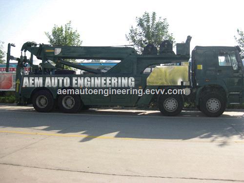 50 ton rotator tow truck recovery wrecker