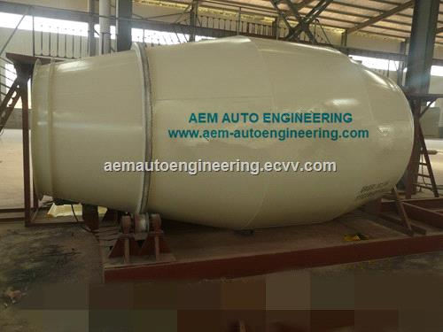 Concrete Mixer Truck Body Parts Mixing Drum Parts