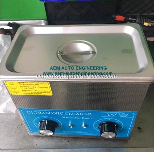 Ultrasonic Cleaner for cleaning fuel injector nozzle and pump