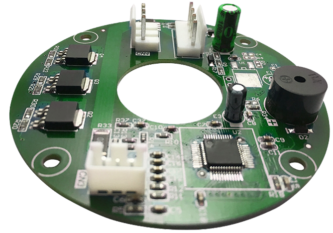 High efficiency 12v dc fan pcb board bldc fan controller for Speed control of bldc motor