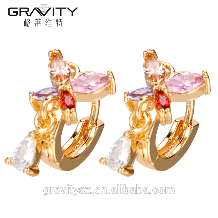24k Gemstone Tanishq Rose Women Jewelry Vintage Factory China Cc Dubai Tops Design Statement Gold Bali