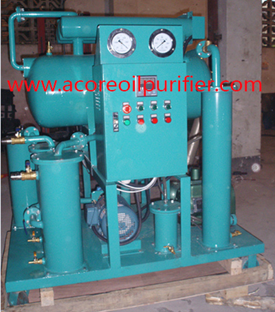 Hi-Vac Transformer Insulating Oil Filtration Machine