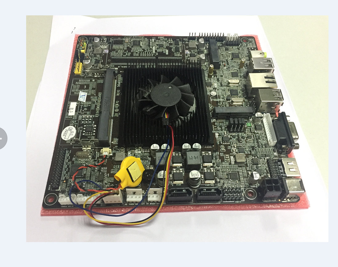 J1900IPC New technology J1900MINI ITX industrial motherboard