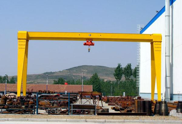 120t Single Girder Gantry Crane for Sale