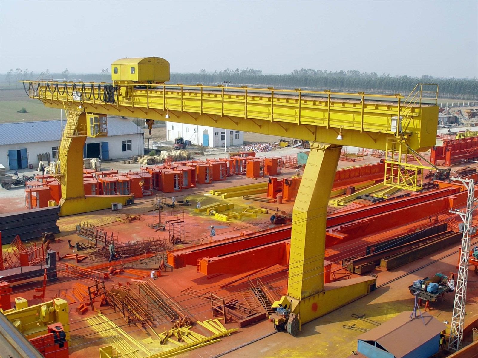 1-20t Single Girder Gantry Crane for Sale