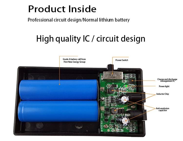 Shenzhen mini UPS battery manufacturer compact UPS for induction door