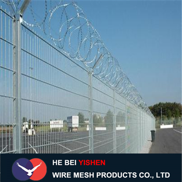 Double Edge Wire Fence Y Type, Barbed Wire Fence purchasing, souring ...