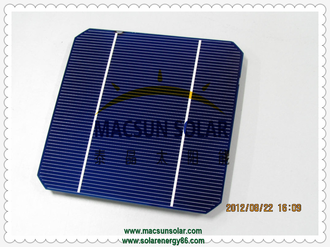 Mono crystalline silicone solar cells solar cell characteristics high efficiency and stable performance in photovoltaic