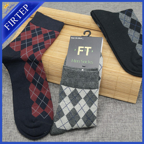 baa78ee76b4 Ankle Jacquard Pattern Men s Socks in Cotton from China Manufacturer ...