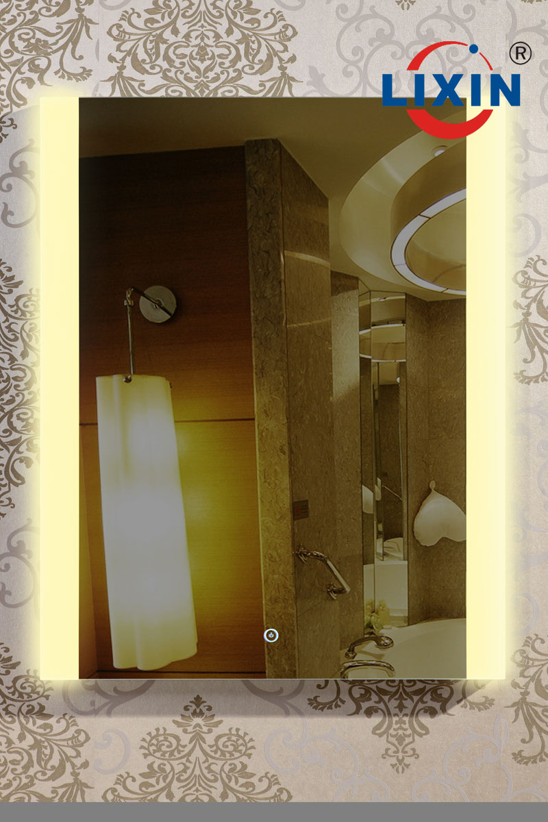 Bathroom Mirror with LED Light with Aluminum Frame LX004 purchasing ...