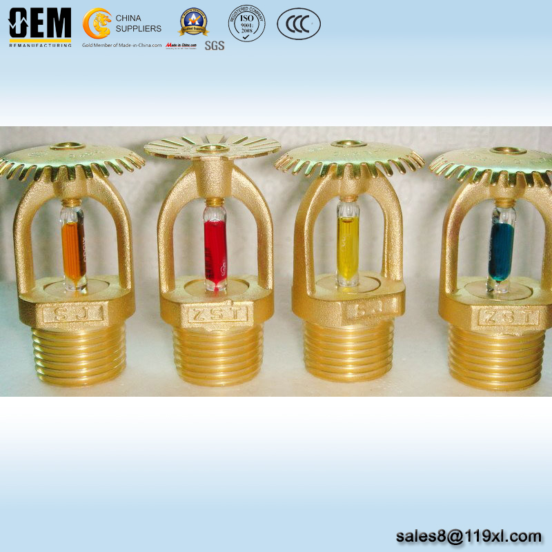 OEM Brass Pendent/Upright Fire Sprinkler Heads from China