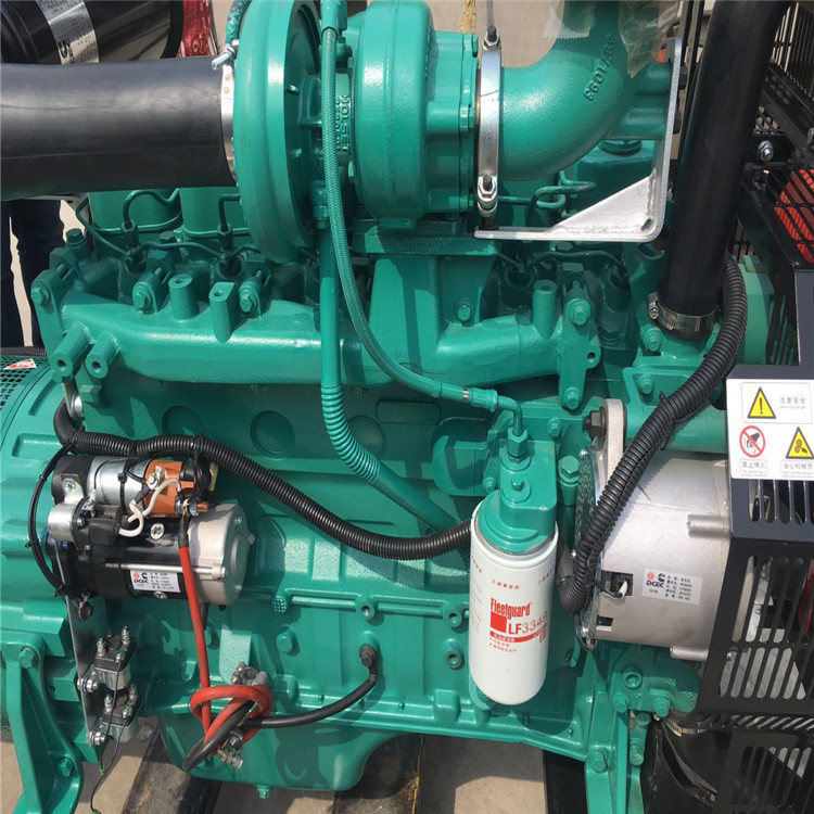 100kva diesel generator set high capacity diesel engine generator with Cummins power