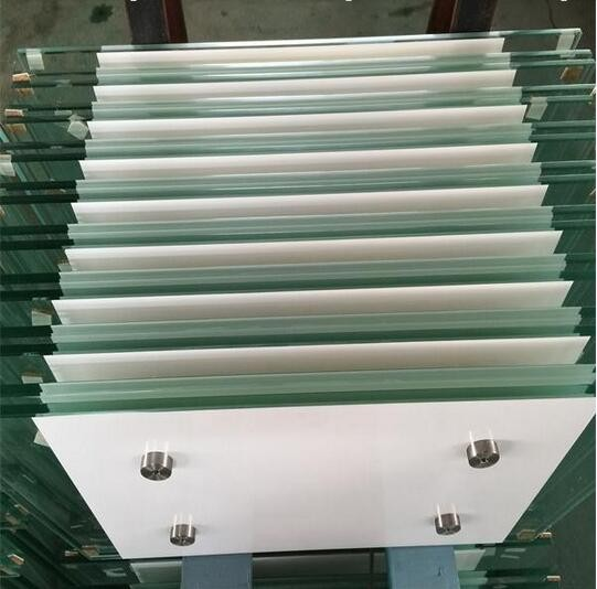 319mm clear grey blue bronze green black toughened safety glass building glass factoryChina