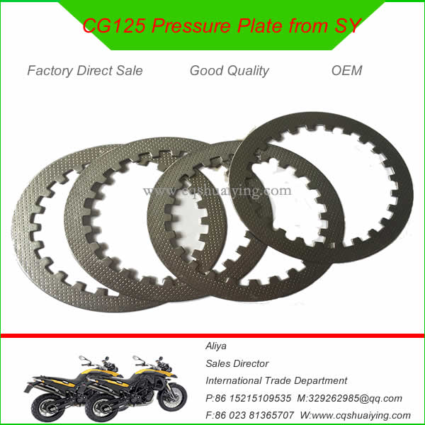 CG125 Motorcycle Cluch Pressure Plate from China