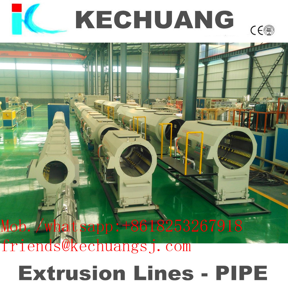 Plastic HDPE Pipe Making Machine