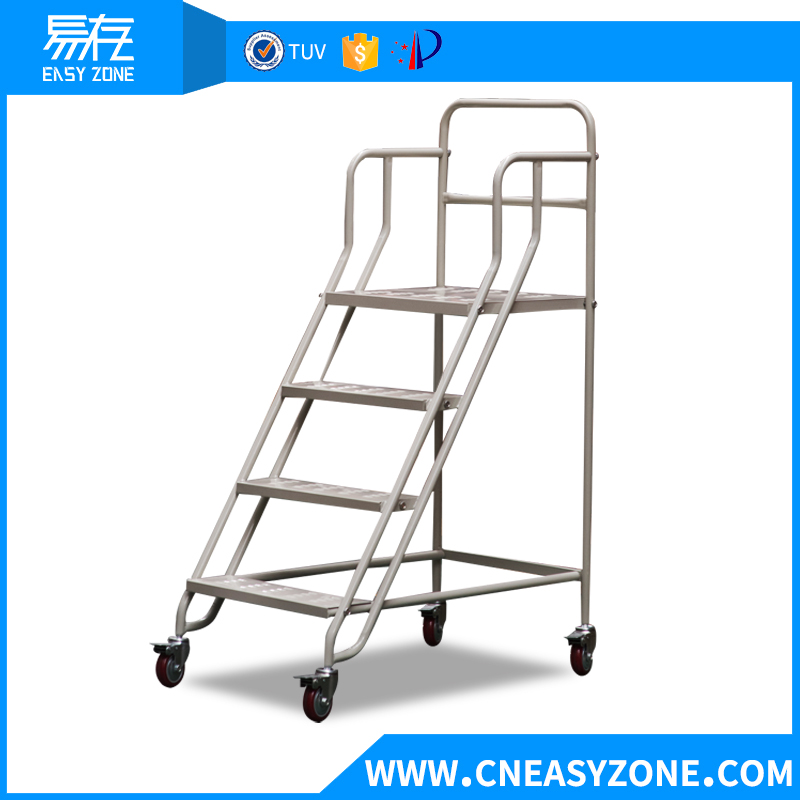 Easyzone 1m steel warehouse step ladder