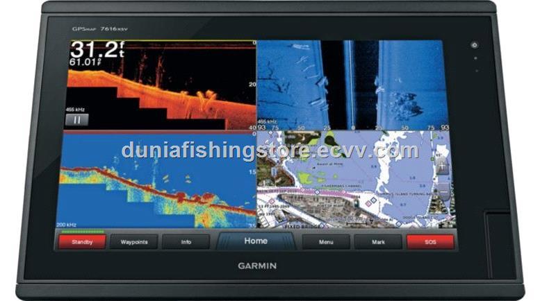 Preloaded LakeV/ü HD /& BlueChart g2 Garmin GPSMAP 7616xsv