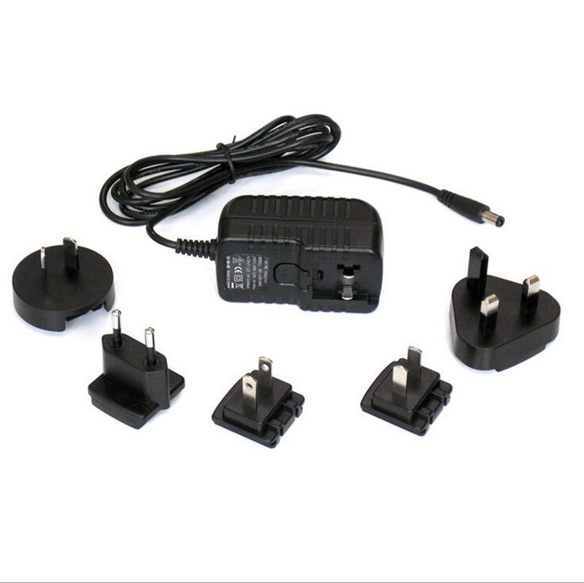 75V1A Interchangeable plug Power Adapter 75W Switching adapter