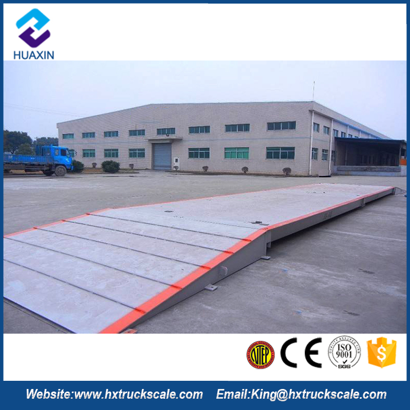 New Generation Good Measuring Stability 80 Ton Truck Scale