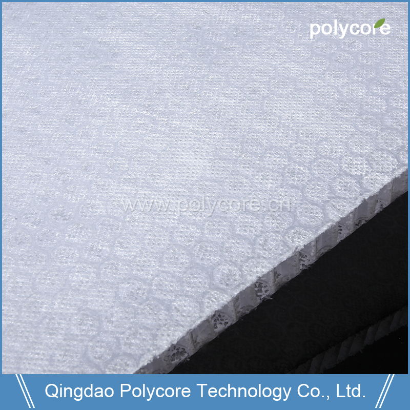 Light Weight Stifness Strength Waterproof Stable Life PP Honeycomb Sheet Applied in Bus Body