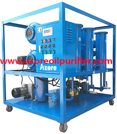 HiVac Transformer Insulating Oil Filtration Machine