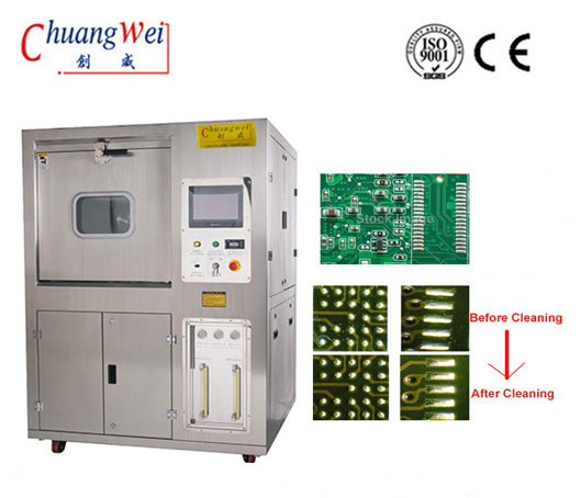 SMT PCB Cleaning System PCBA Cleaner with 645(L)*560(W)*100(H