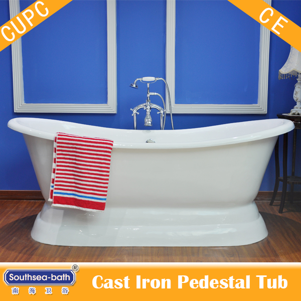 Pedestal Cast Iron Bathtubs from Southsea