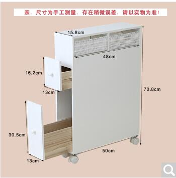 toilet wooden cube side cabinet
