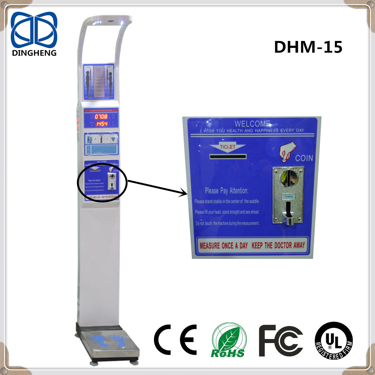 DHM-15 Coin Currency Ulstrasound Probe for Height Measuring Body ...