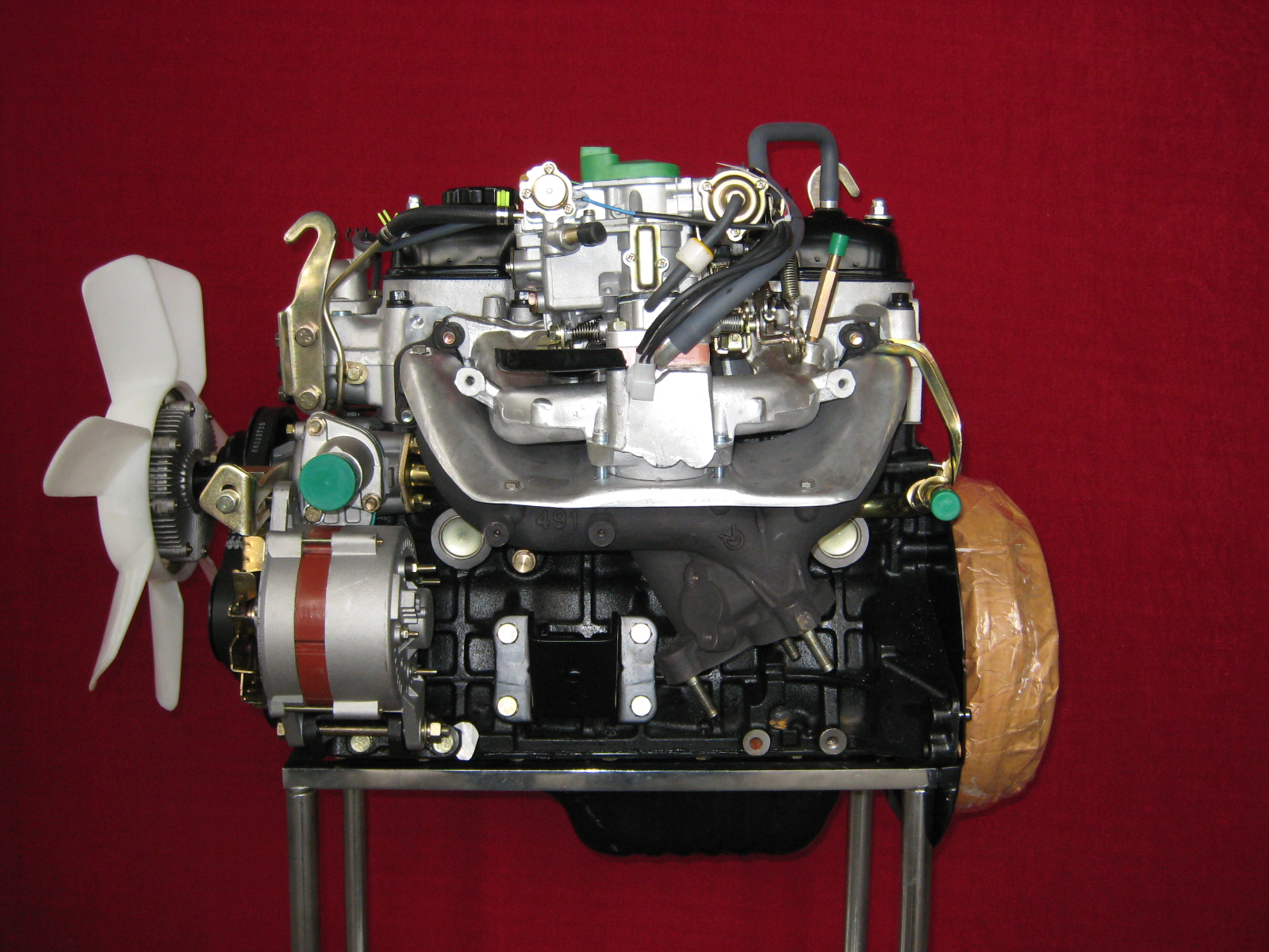 Toyota 4y Engine 2200cc Hiace Hilux How Timing