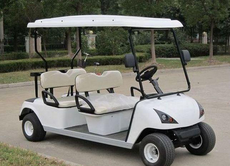 2 row golf car 4 seats golf cart