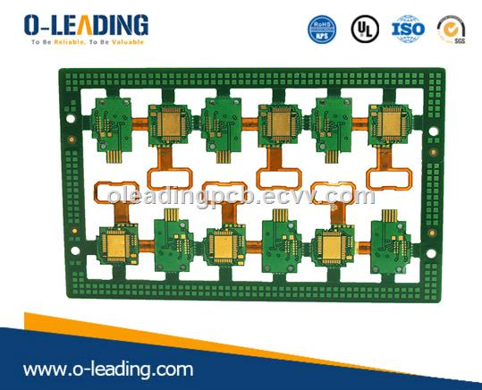 Rigid-Flex PCB with Polymide + FR4 Material from China