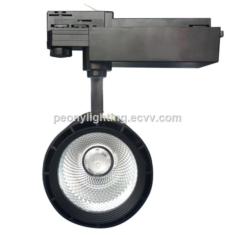 2/3/4 Wires LED COB Track Light 25w TUV Driver with 10/25/38 Degree ...