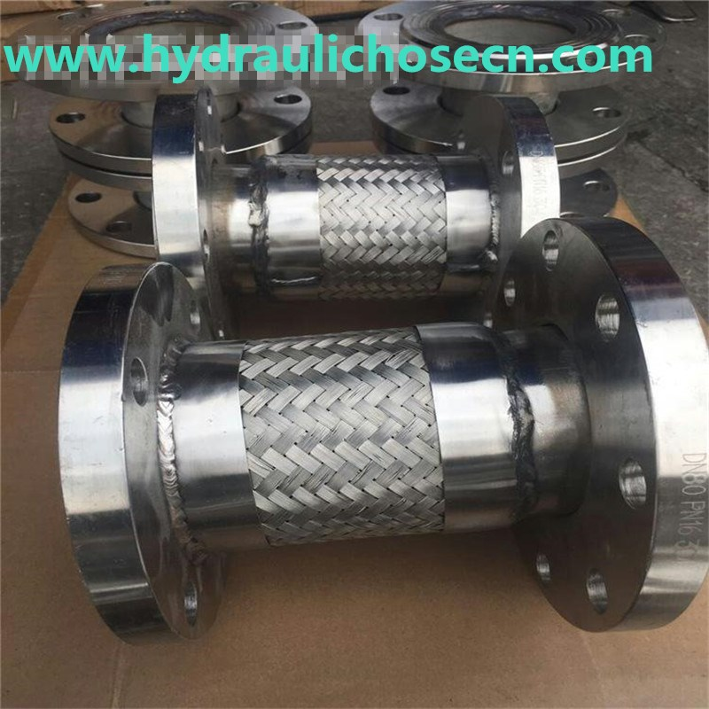 Stainless Steel Flexible Hose with Flange Fitting/ Flange