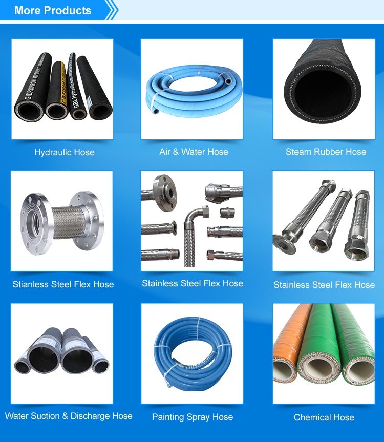 Stainless Steel Flexible Hose Victaulic Pipe Assembled on
