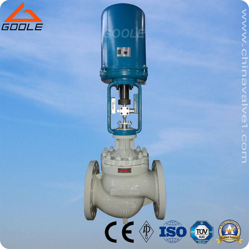 Electric Actuated Single Seat Control Valve