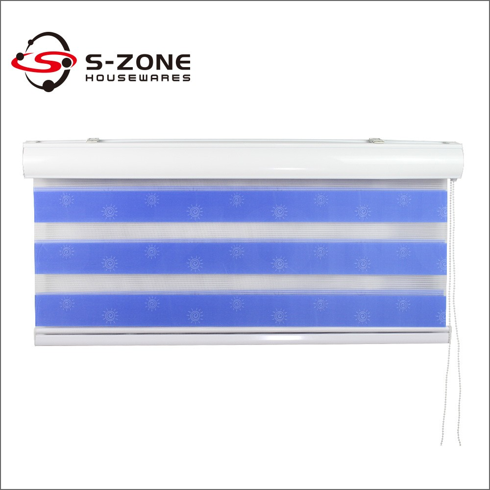 Office Window curtain Remote Control Electric Roller Curtain