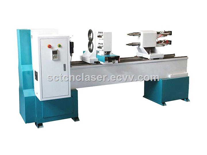 Cheap Price CNC Lathe Machine, Router CNC Woodworking Lathe