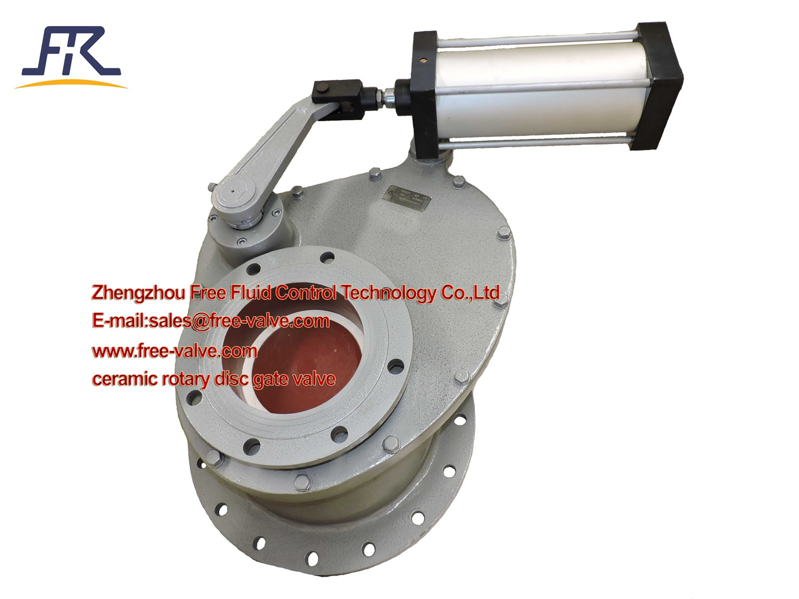 Pneumatic Swing Ceramic Feed Valve, Ceramic Swing Discharge Gate Valve
