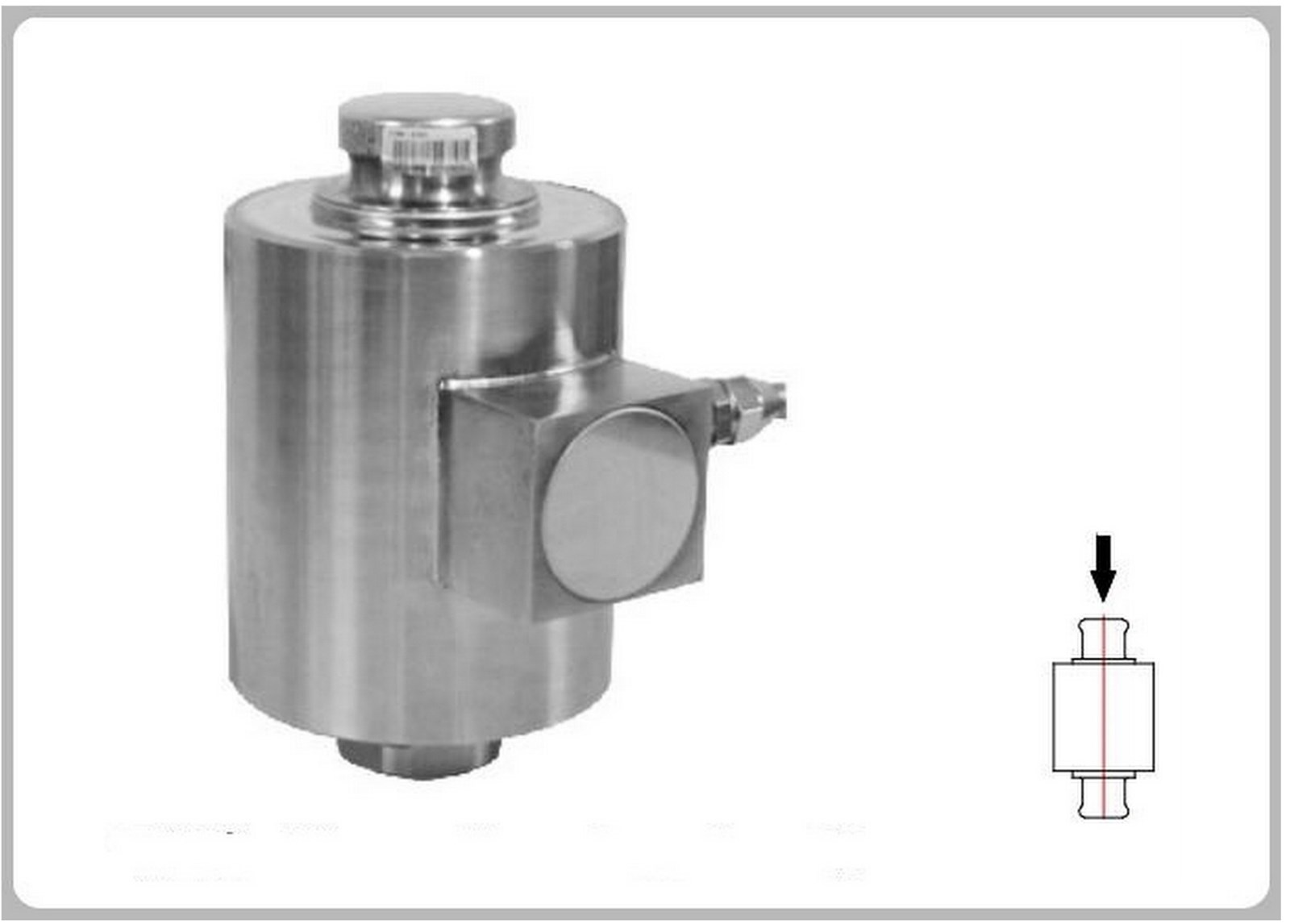 MC8214 Load Cell & Force Transducer For Weighing Scale, Truck Scales, Axle Scale, Silo Scale, Warehouse Scale