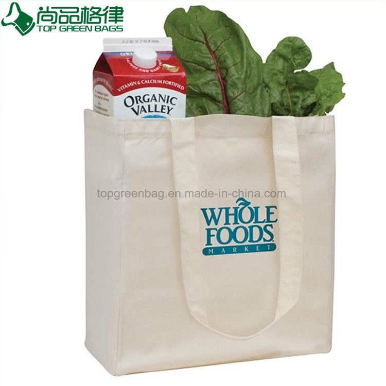 Whole Plain White Ping Carrier Cotton Bags From