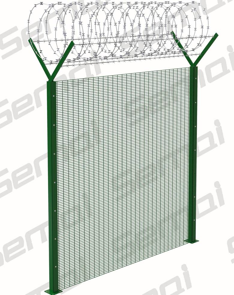 358 Anti Climb Fence with Razor Wire Type purchasing, souring agent ...