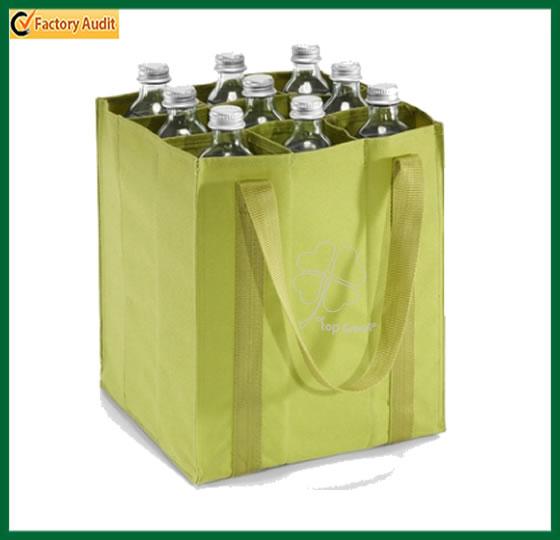 6 Bottles Non Woven Wine Bag Polypropylene Bottle Bags Beer Holder Pp Promotional