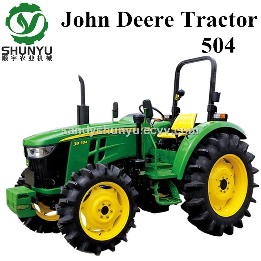 John Deere 504 50hp 4wd Tractor for Sale