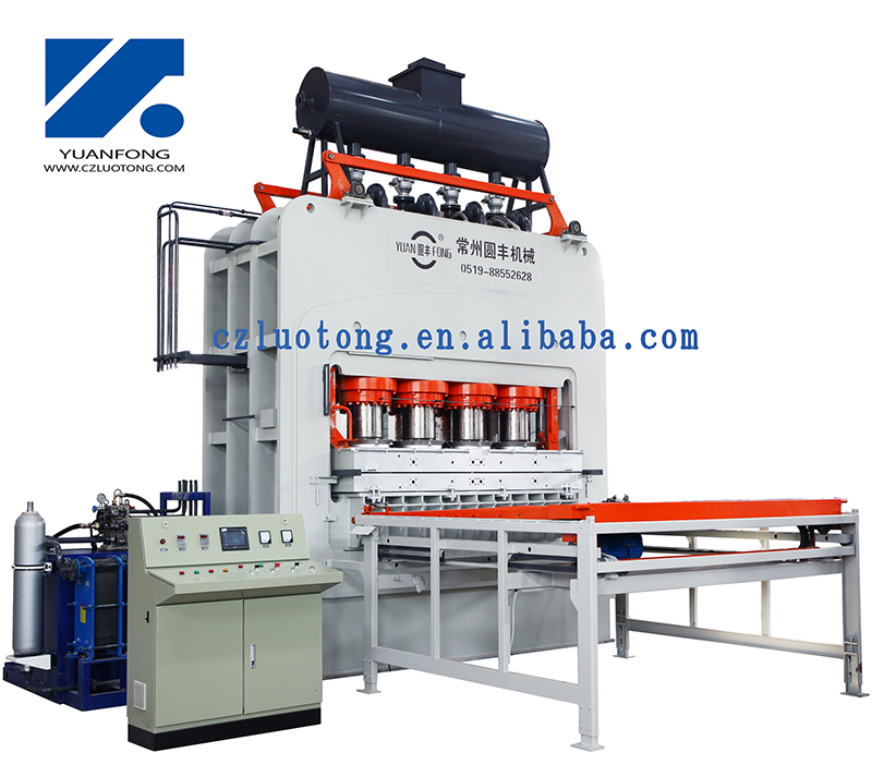 Hot Press Machine for Melamine Paper/Laminating Floor
