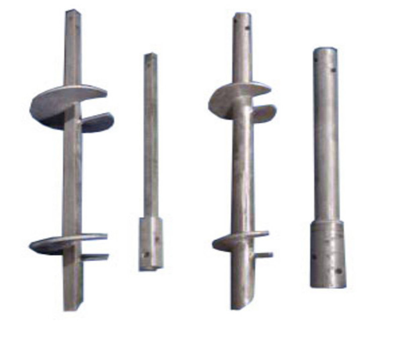 Hot Dip Galvanized/Plain Helical Piles/Screw Anchors from