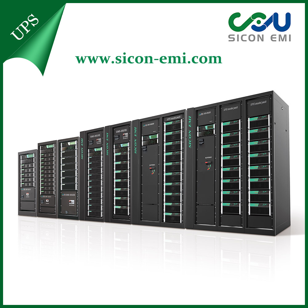 Sicon 3 Phase LCD Uninterrupted Power Supply UPS 50-800kva Modular UPS