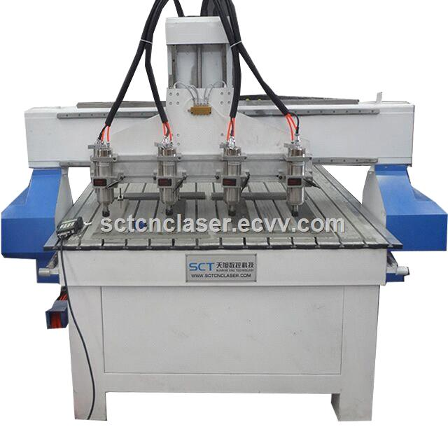 1313 3 Heads Cutting Engraving Furniture Making CNC Router