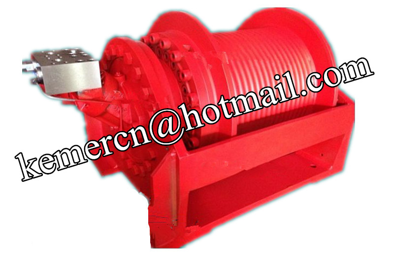 Custom Built Hoisting Hydraulic Winch for Drilling Rig, Crane & Marine